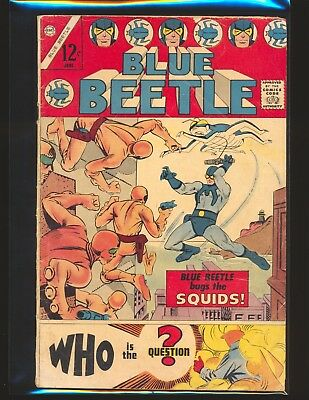 Blue Beetle Vol. 3 # 1 (Charlton) - 1st app The Question by Ditko Good+ Cond.