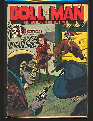 Doll Man # 39 - Narcotics The Death Drug cover & story G/VG Cond.