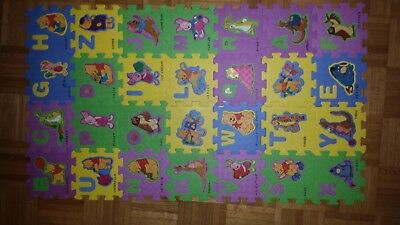 Child's Winnie the Pooh Foam Floor Mat Puzzle