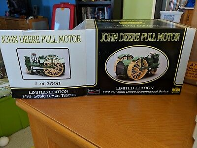 John Deere Pull Motor Limited Edition 1 of 2500 First in JD Experimental Series