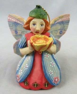 G. DeBrekht - Yellow Buttercup Fairy - Christmas Figurine Ornament