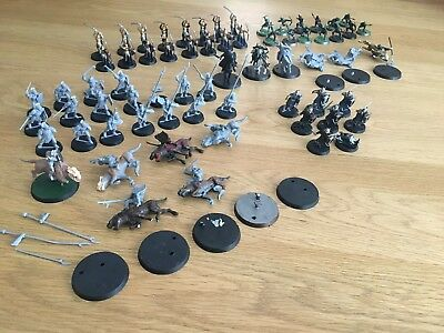 Lord Of The Rings - Strategy Game & Hobbit Bulk Lot Miniatures