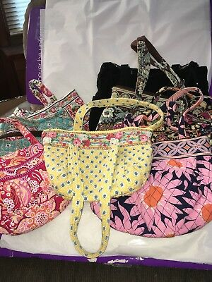 Vera Bradley Preowned Lot 9 Pieces