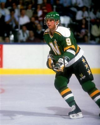 Mike Modano Minnesota North Stars Rookie 8x10 Photo