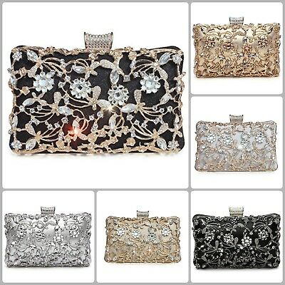 ca8c49495383 Wedding Clutch Bags For Women Party Evening Bridal Prom Envelope Purse  Handbag