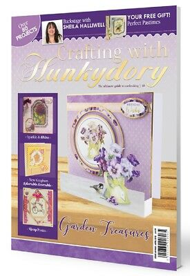 Crafting with Hunkydory Magazine Issue 40 Plus FREE Papercrafting Kit PROJECT140