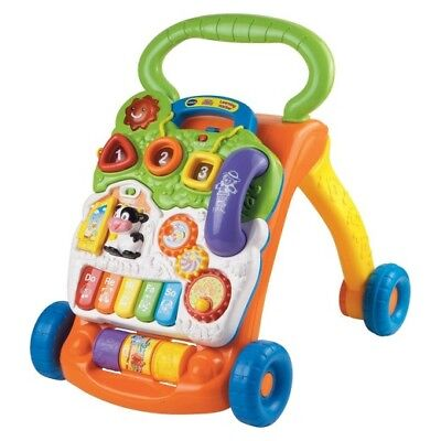 VTech Sit-to-Stand Learning Walker Baby Toddlers Activity