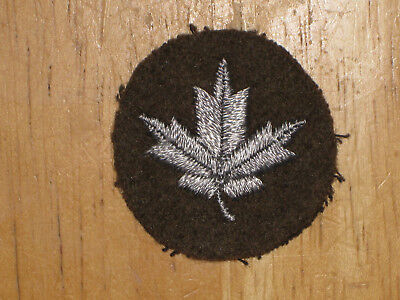 Canadian Army Qualification Badge 10 Year Service Chevron nice 1956 Pattern
