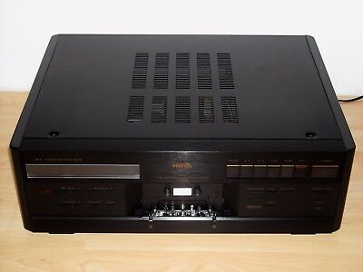Revox H1 High End Cassette Tape Deck  * NEAR MINT * + Revox B208 Remote Control