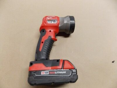 Milwaukee 2735-20 Led Worklight with M18 Red Lithium battery (no charger)