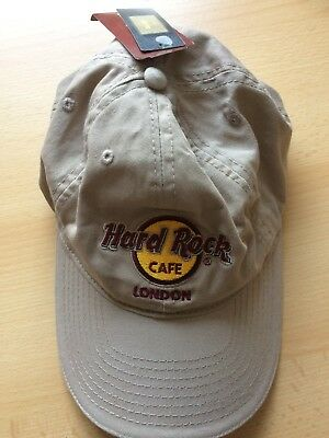 HRC Hard Rock Cafe London Black Base Cap Basecap  neu