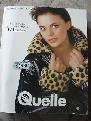 Quelle Katalog Herbst/Winter 1998/99