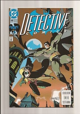 Detective Comics #648 Nm- 9.2 1St Full App. Of The Spoiler! *white Pages* 1992