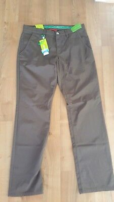 Alberto Golfhose Pitch-D Water repellent, braun,  Gr.48