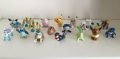 20 Pokemon Figuren - Sammlung - Pikachu - Evoli