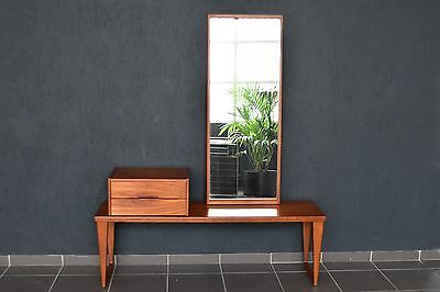 Garderobe Aksel Kjersgaard Teak no.36 / 32 & 145 bench Entry Chest Mirror Odder