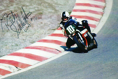 ORIGINAL AUTOGRAPH  Richard Schlachter  USA
