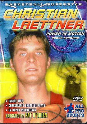 DVD  - Christian Laettner - Power in Motion - Power Forward -Basketball Supersta