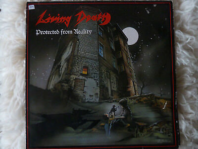 LIVING DEATH - Protected from Reality 1987  und Paraox -LP