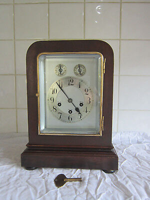 Stunning Large Bracket clock Westminster Chime-Junghans circa 1900