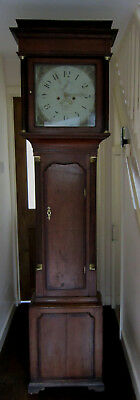 Superb Oak Longcase/Grandfather  Clock – W.M Rider Welshpool –Circa 1810