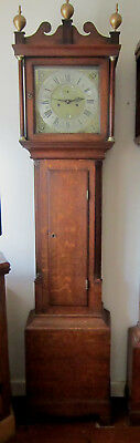 Stunning Oak Longcase/Grandfather Clock – James Thorn Colchester- Circa 1740