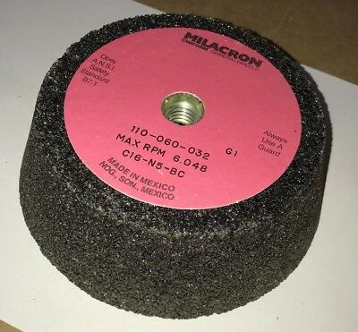 "Cup Grinding Wheels 6""/4 - 3/4"" x 2"" x 5/8-11 Single Unit Cincinnati Milacron"