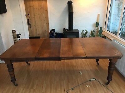 Late 19th Century Extending Mahogany Dining Table