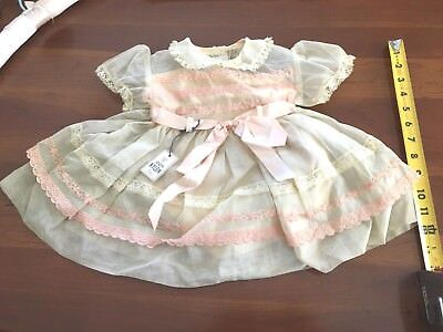 Vintage Baby Girl's Dress New With Tag Never Worn