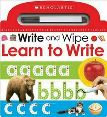 Write and Wipe: Learn to Write by Make Believe Ideas Board Books Book Free Shipp