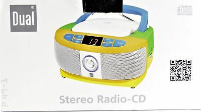 Stereo CD Radio Boombox Dual P49-1 Bunt LED Display Portable