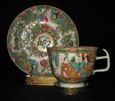 Chinese Rose Medallion, Cup & Saucer Set (M)