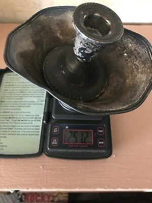 Weighted Scrap Sterling Silver 251.2grams