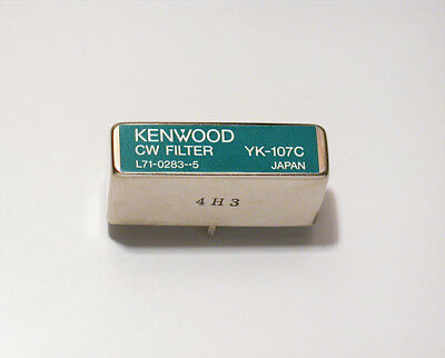 Excellent with 30 Day Guarantee !! Kenwood YK-107C 500 Hz CW filter