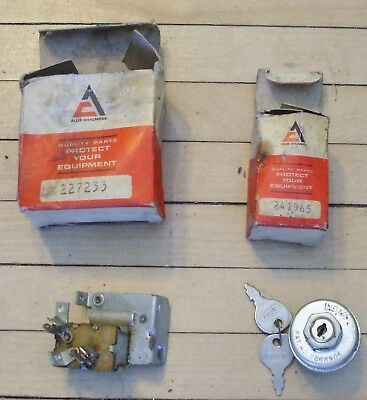 Vintage NOS Allis Chalmers Ignition and  Headlight Switch Farm Lawn Tractor