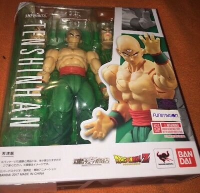 Bandai S.H. Figuarts - Dragon Ball Z - Tien Shinhan and Chiaotzu Action Figure