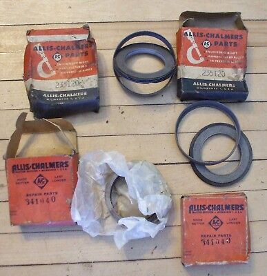 NOS Allis Chalmers Hydraulic Cylinder Gland Packings  Part Number 341040 235120