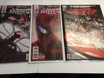 Amazing Spiderman #795,796,797,798 1st Prints 1st Red Goblin