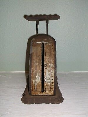 Rare Antique Pelouze Mfg. Co. Collectible National Postal Scale Patented 1896