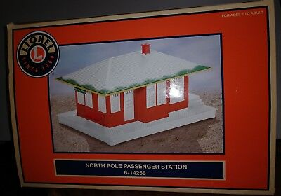 Lionel North Pole Train Station *lighted* Number 6-14258 Edition -New In Box