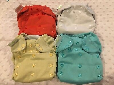 Bum genius Cloth Diapers Lot Of 4, Used all-in-one, READ DESCRIPTION
