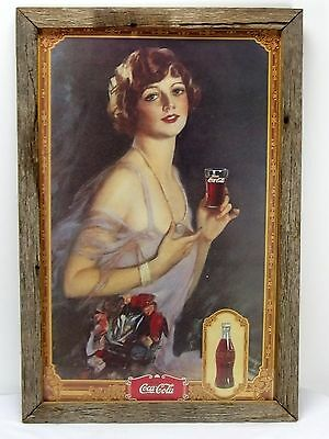 1920's Coca-Cola Party Girl Print Flapper Girl Drink Coca-Cola Print Ad Vtg