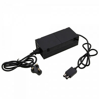 New Power Brick Supply Cable Wall Plug Charger Adapter Xbox One Console