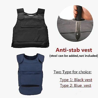 Anti Stab Vest Anti-knifed Defense Body Armour Vest (steel can be added) BG
