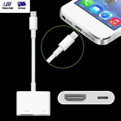 Digital AV HDTV Adapter Dock Connector to HDMI for IOS Apple iPad Retina iPhone