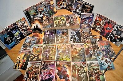 Lot Of 41 Transformers Comic Books