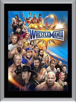 Wrestlemania A1 To A4 Size Poster Prints