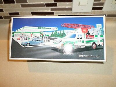 Hess Rescue Truck 1994 (New In Box) Never Opened
