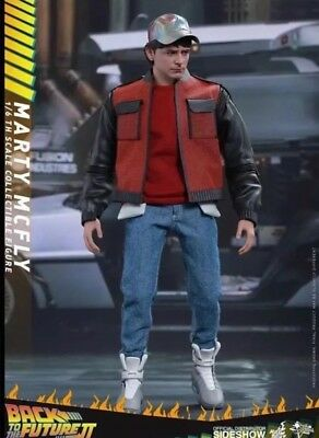 """Marty McFly Back to the Future 2 Zurück in die Zukunft 12"""" Figur Hot Toys"""