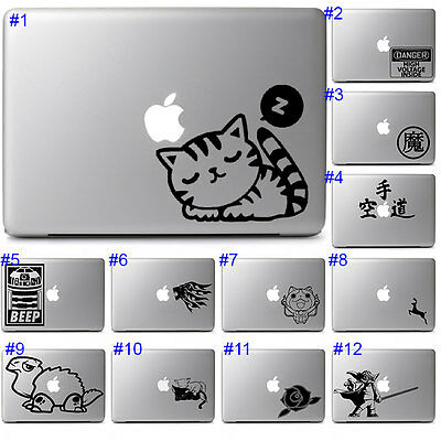 Cute Cat Star Wars Laptop Decal Vinyl Graphic Sticker for Apple Macbook Air Pro